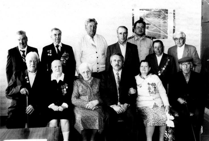 В коркинской милиции работали участники Великой Отечественной войны
