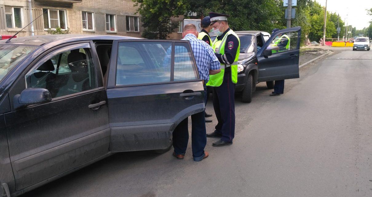 В ходе рейда два водителя привлечены к ответственности