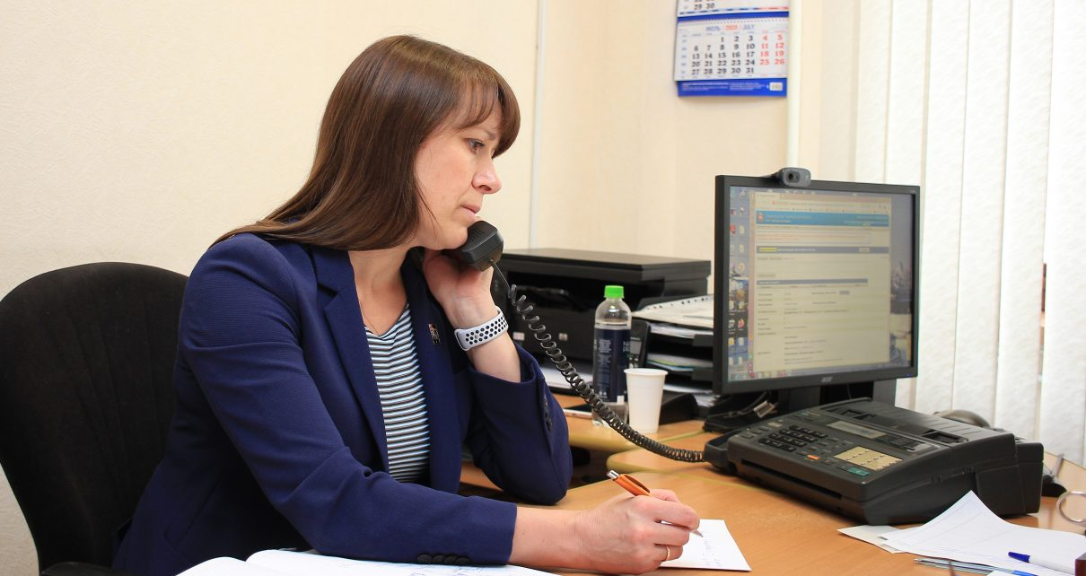 В ходе прямой линии глава Коркинского района ответила на 39 вопросов