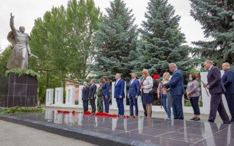 В Коркинском районе почтили память погибших в Великой Отечественной войне