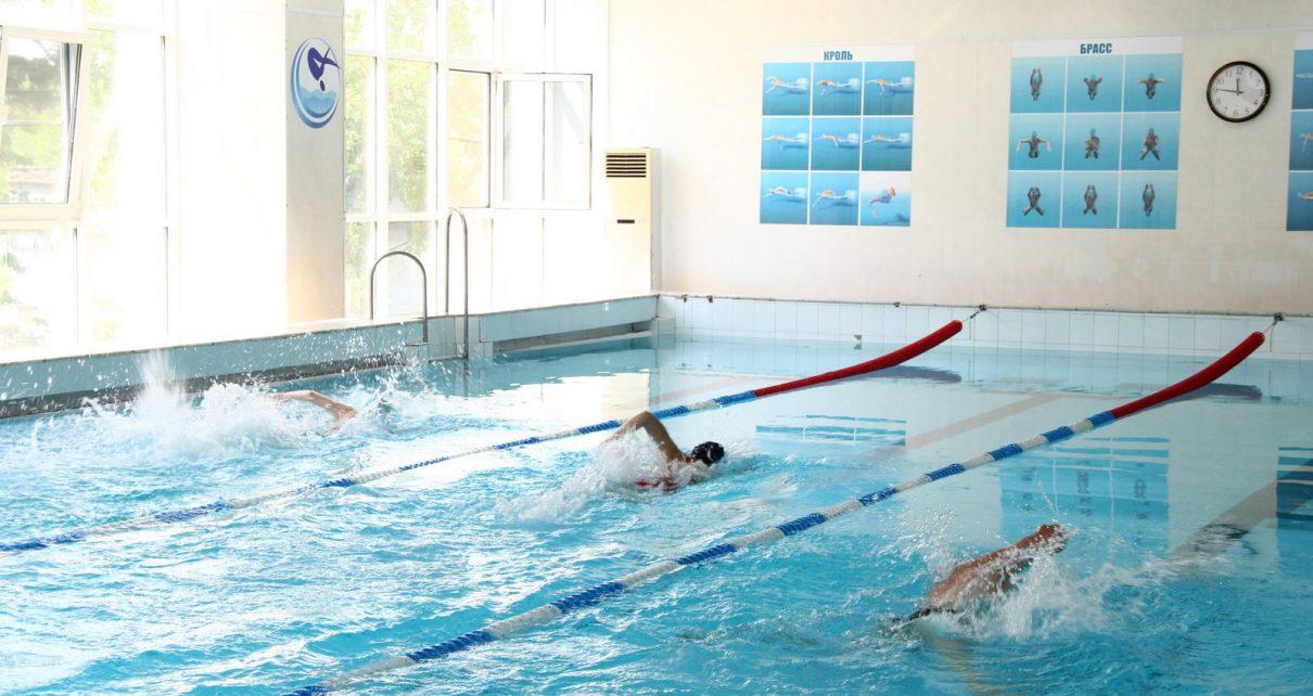 Плавательный бассейн снова принимает коркинцев, но с соблюдением профилактических мер