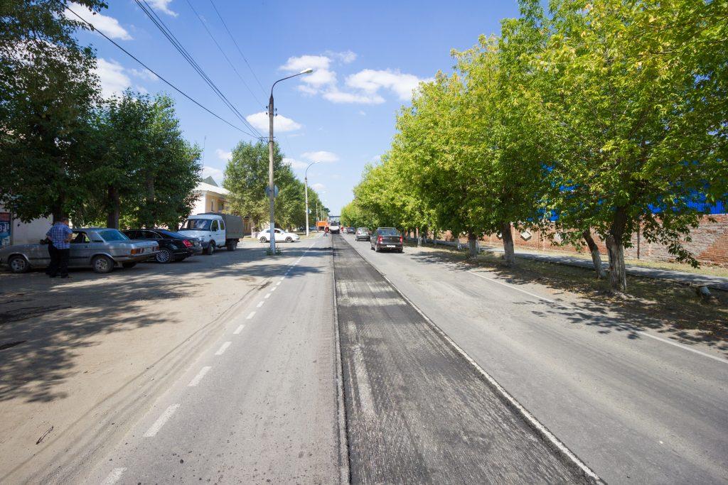 В Коркино начался ремонт дороги на улице 30 лет ВЛКСМ