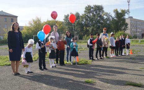 В День знаний в коркинской школе не пришлось скучать