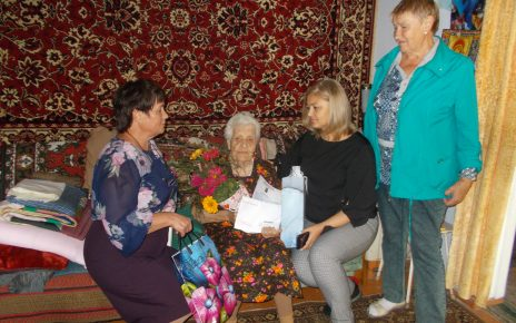 Нина СтепановнаГлазырина из Коркино отметила столетие!