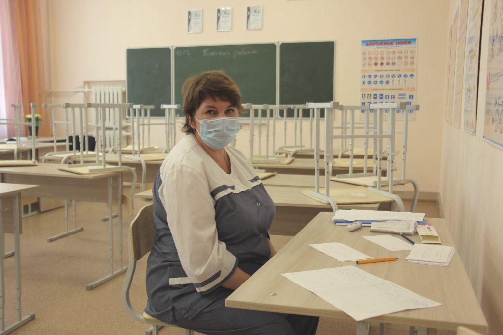 На избирательных участках можно проголосовать и поставить прививку от гриппа