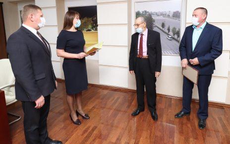 Заслуженного шахтёра РСФСР Алексея Швадчина поздравили с 85-летним юбилеем