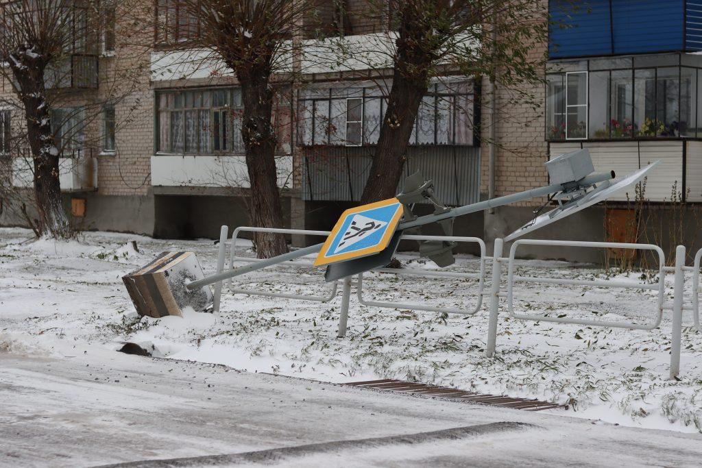 Ветер оставил жителей Коркино и Розы без света