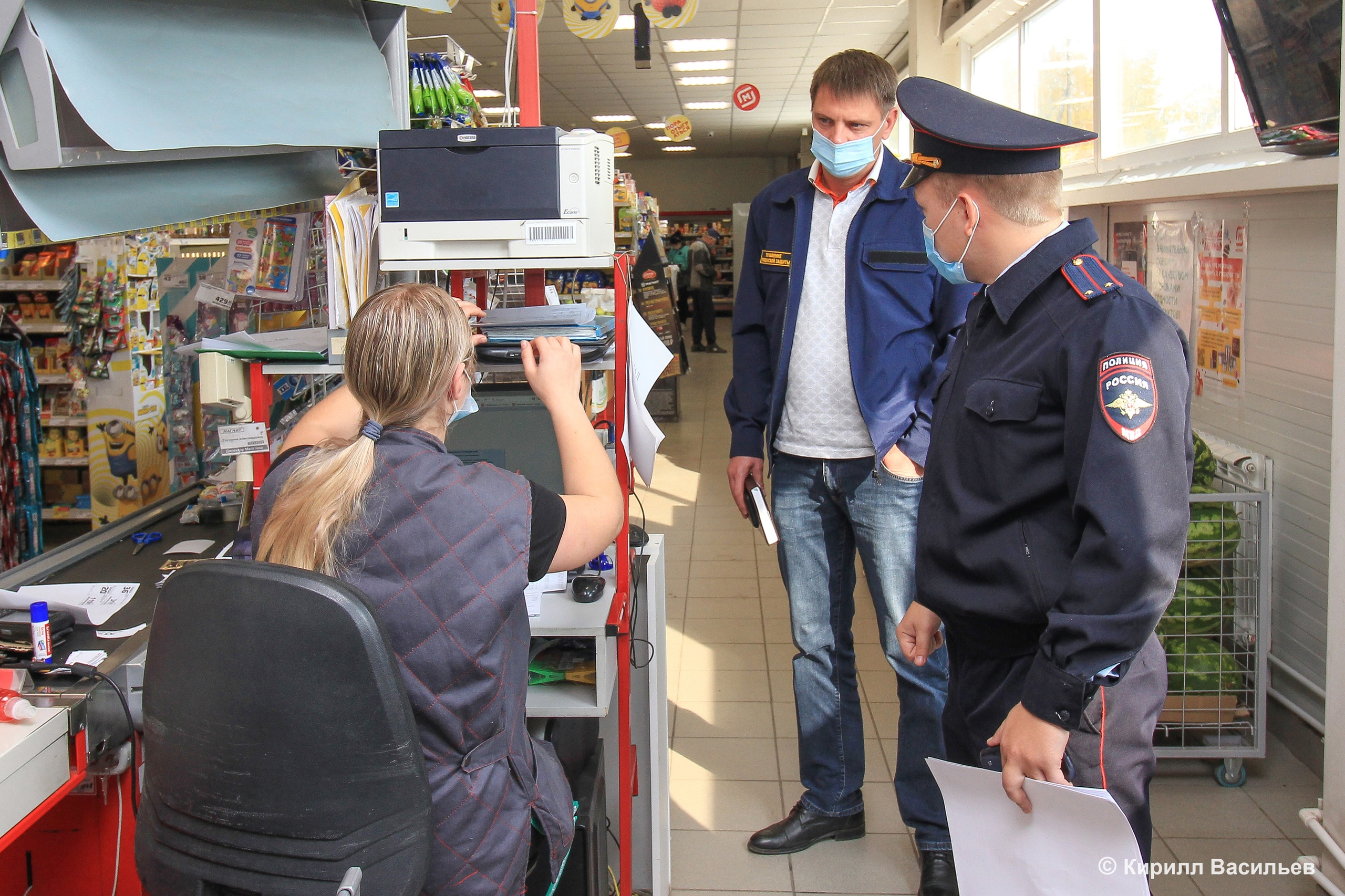Коркинцев просят не забывать про маски в общественных местах. Нарушителей могут оштрафовать