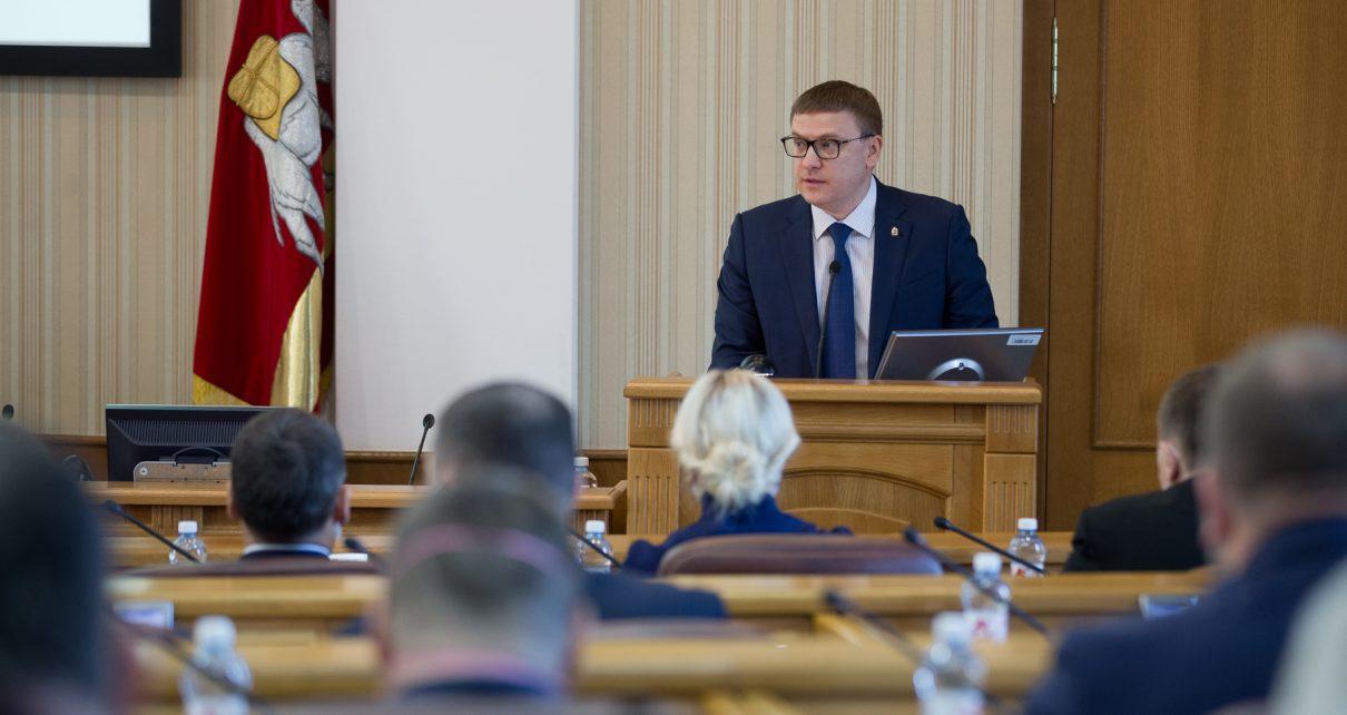 Губернатор обсудил с избранными депутатами перспективы развития региона