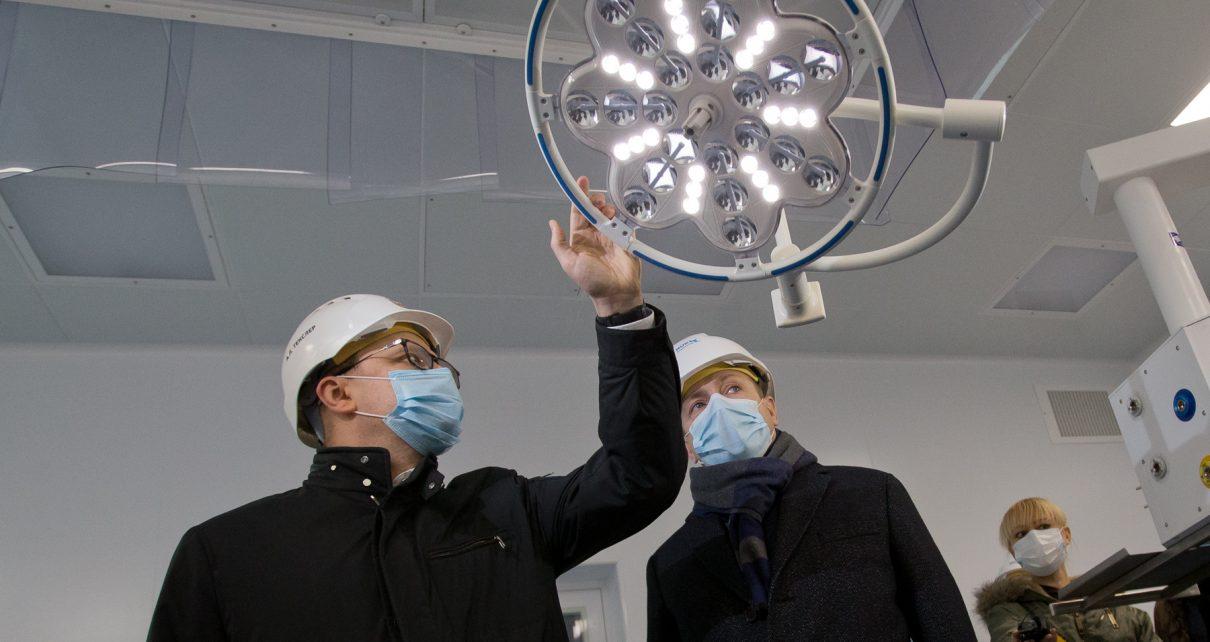 Губернатор сообщил об открытии новой инфекционной больницы