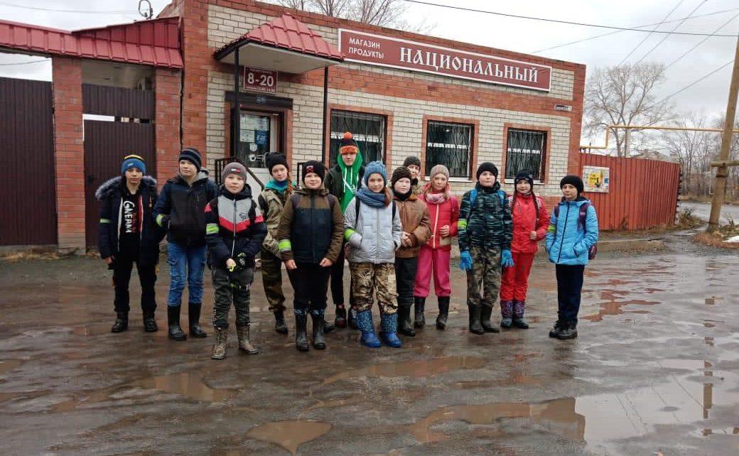 Коркинские ребятишки совершилиувлекательный поход по улицам Коркино