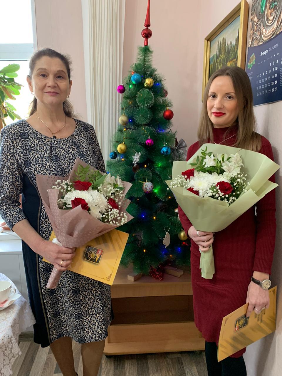 Коллектив редакции газеты «Горняцкая правда» поздравили с профессиональным праздником