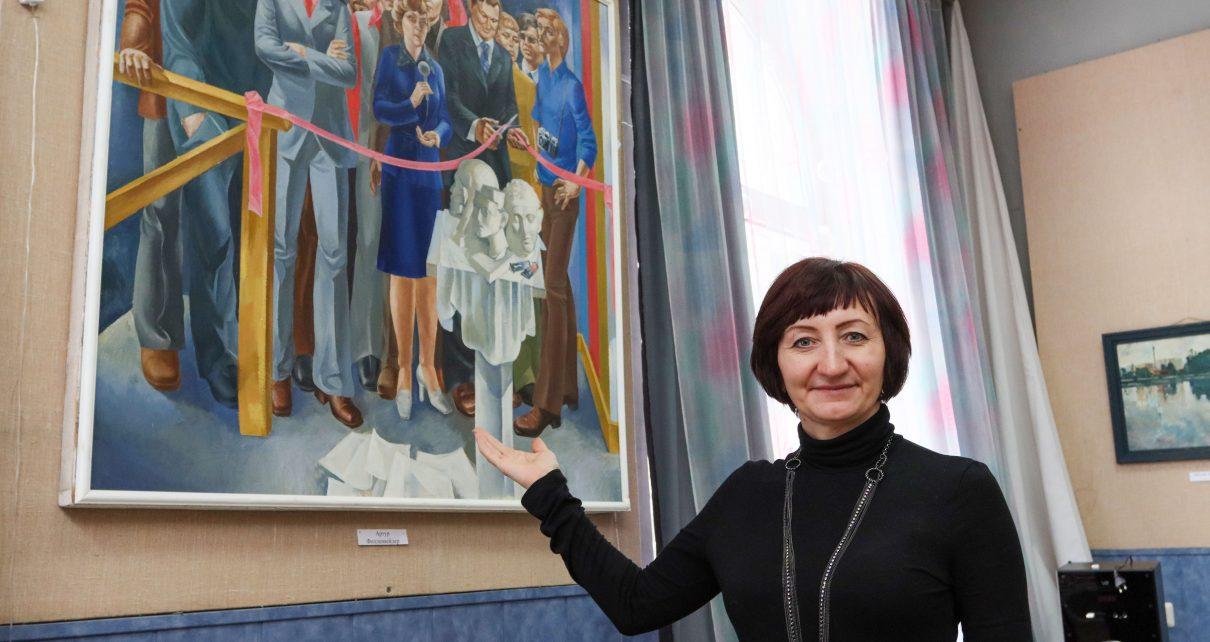 В Коркино открыта выставка работ, посвящённая памяти художников