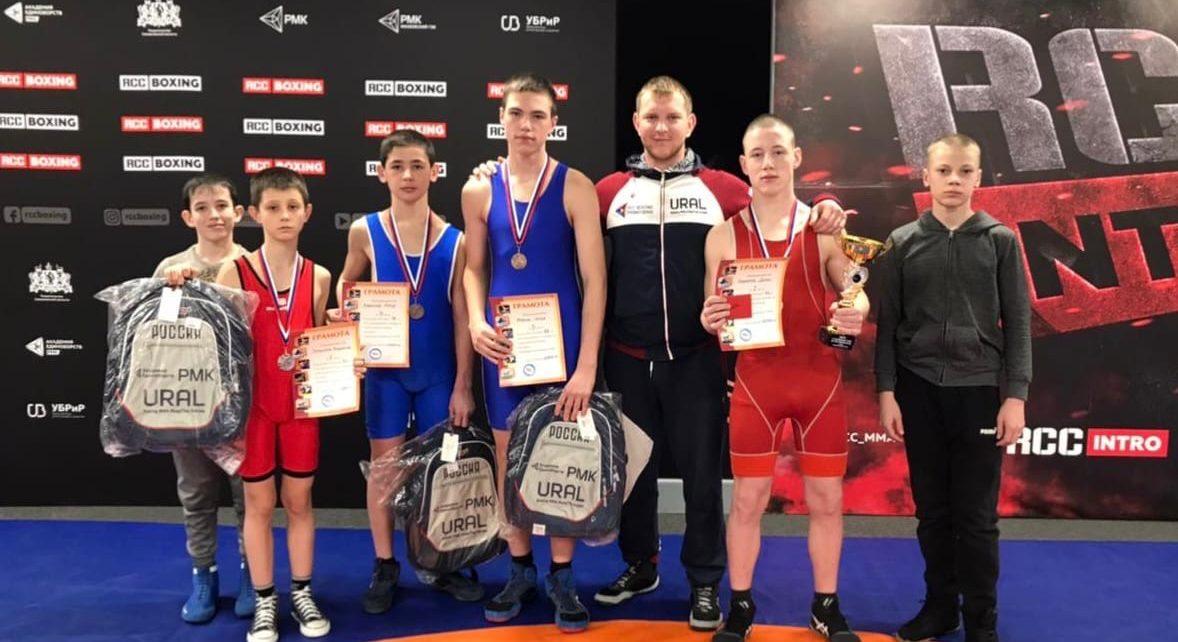 Коркинские борцы приехали с медалями из Екатеринбурга!
