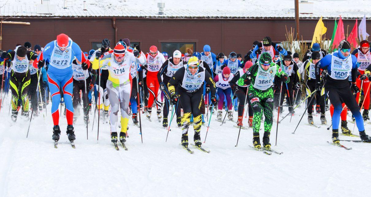 На «Лыжню России» вышли 355 коркинцев и гостей города