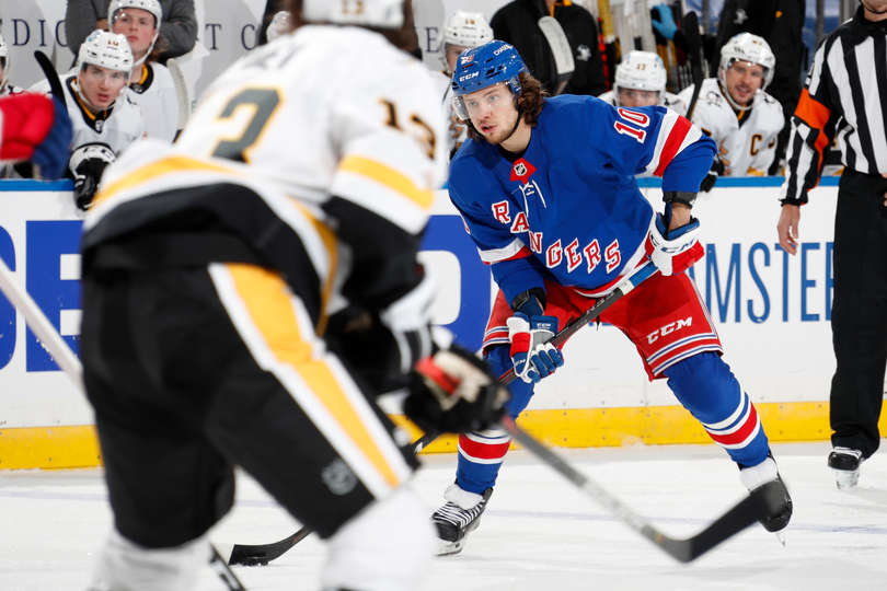 Коркинец Артемий Панарин сыграл четыреста матчей в НХЛ