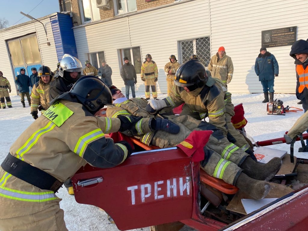 Коркинские пожарные вернулись с победой из Копейска