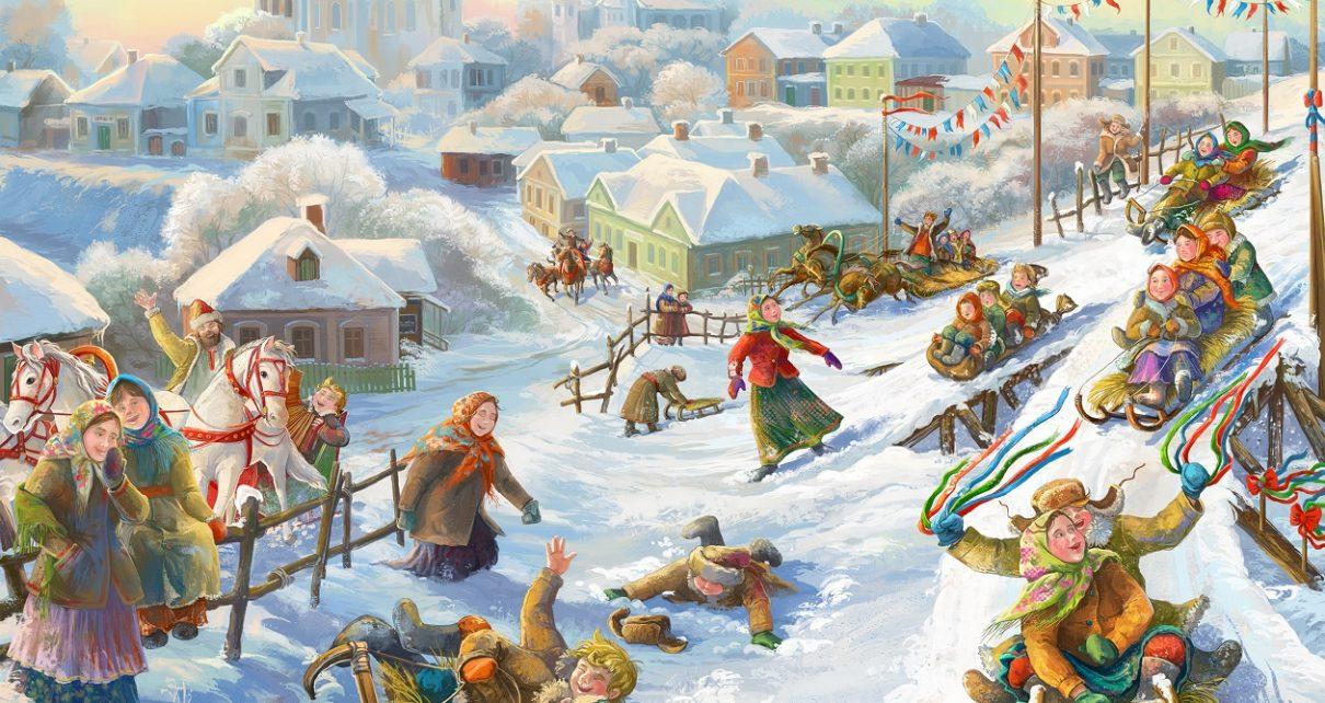 Зимний спорт наших предков: от коньков до сноуборда