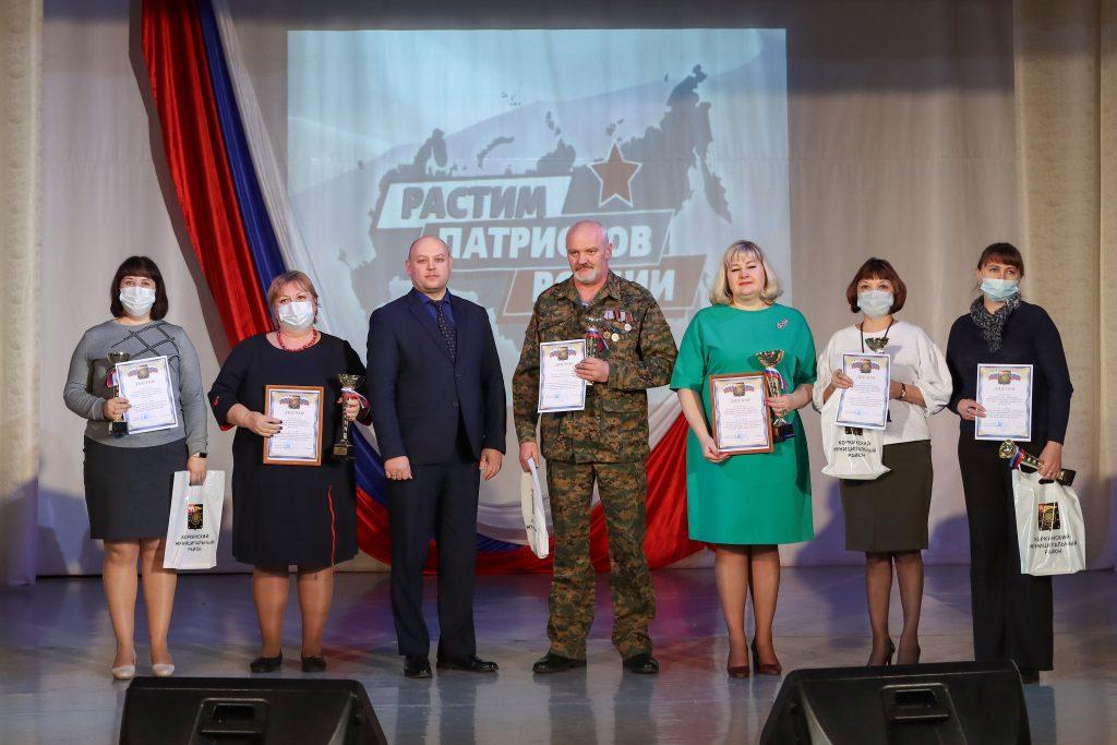 В Коркинском районе наградили юных патриотов
