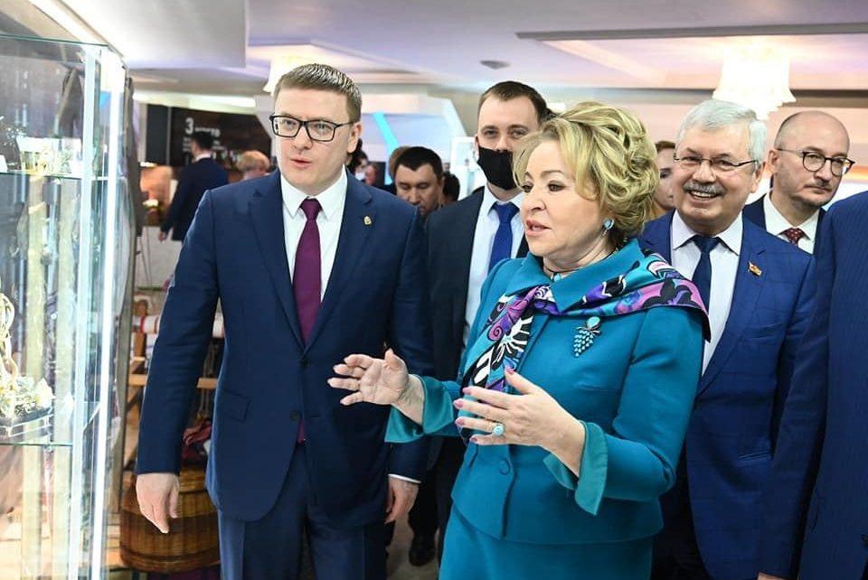 Алексей Текслер обсудил с Валентиной Матвиенко социально-экономическое развитие нашего региона