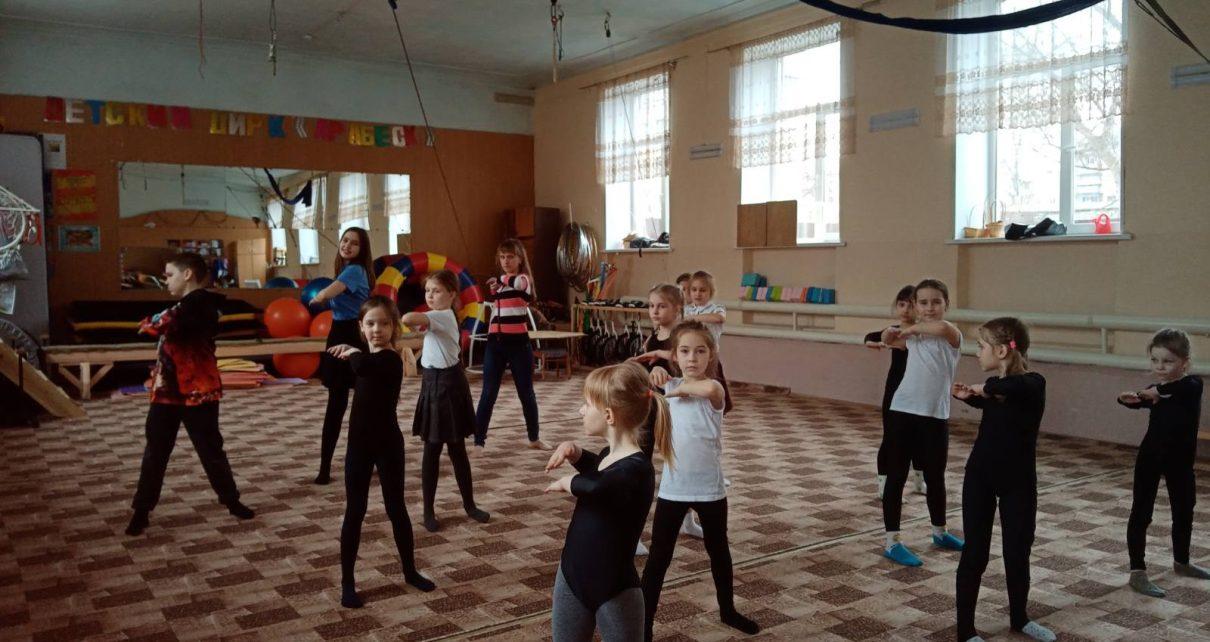 Центр дополнительного образования детей Коркино вышел на зарядку