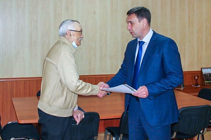Ветеран боевых действий получил сертификат на приобретение жилья