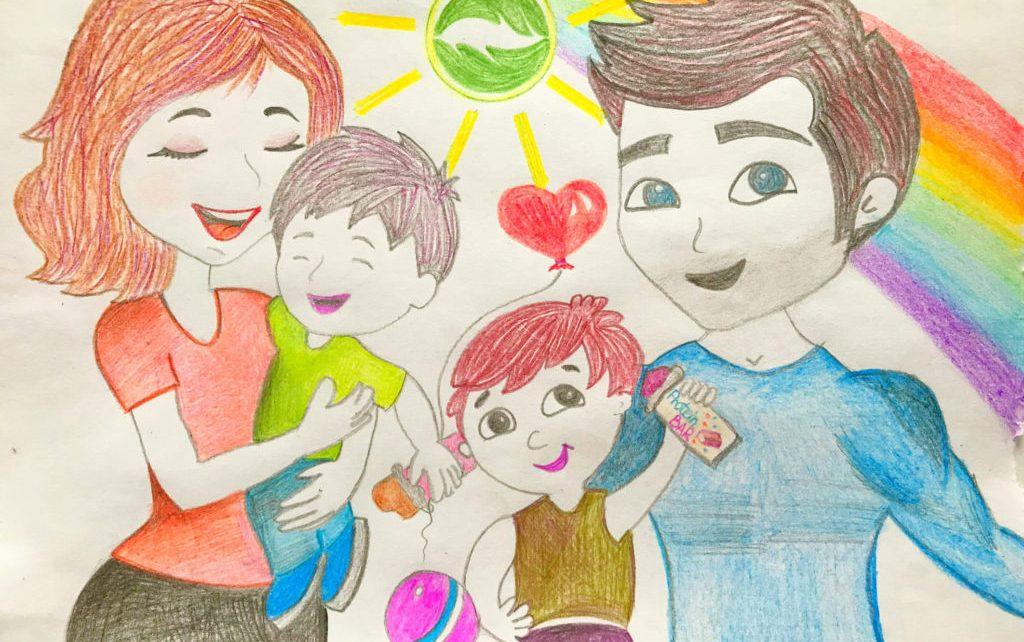 Коркинцев от 6 до 14 лет приглашают принять участие в конкурсе рисунков о семье и Родине