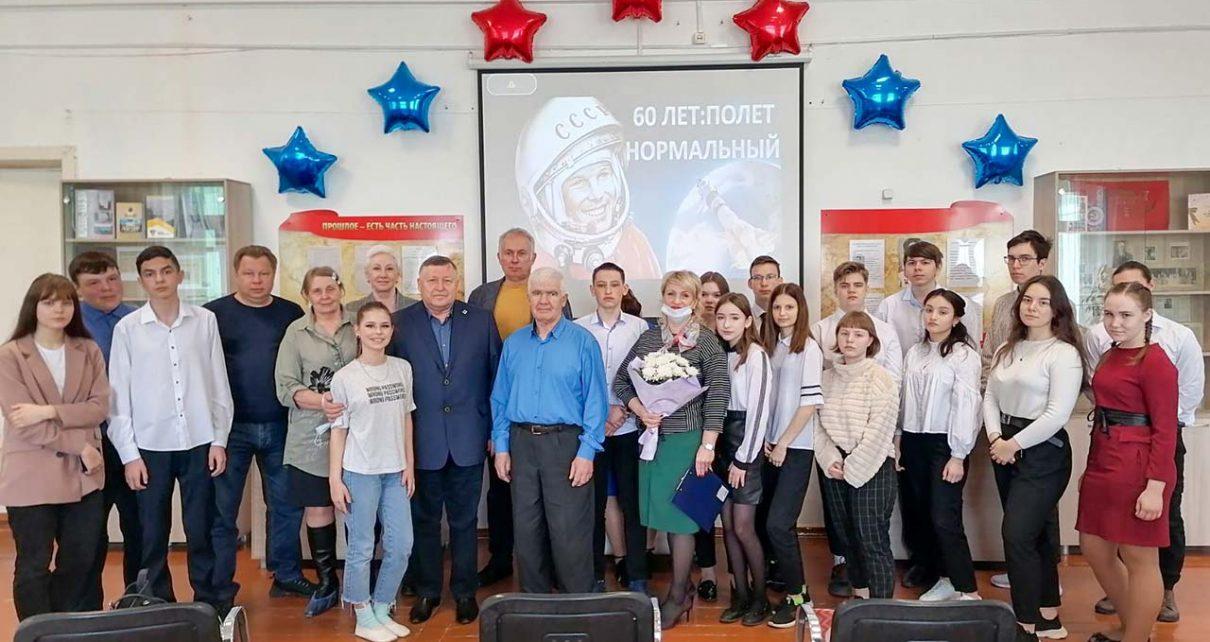 В коркинской школе побывал гость из космического центра имени Хруничева