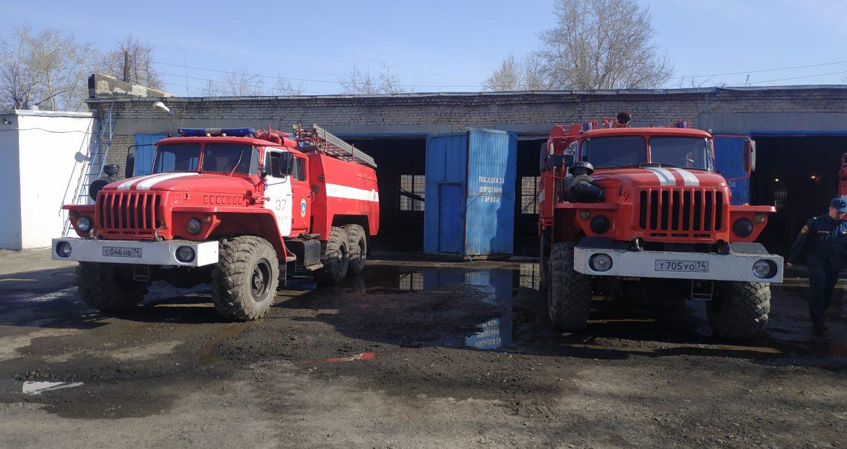 В Коркино горел дом, есть пострадавшие