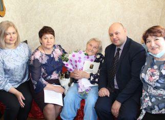 Жительница Розы отпраздновала вековой юбилей