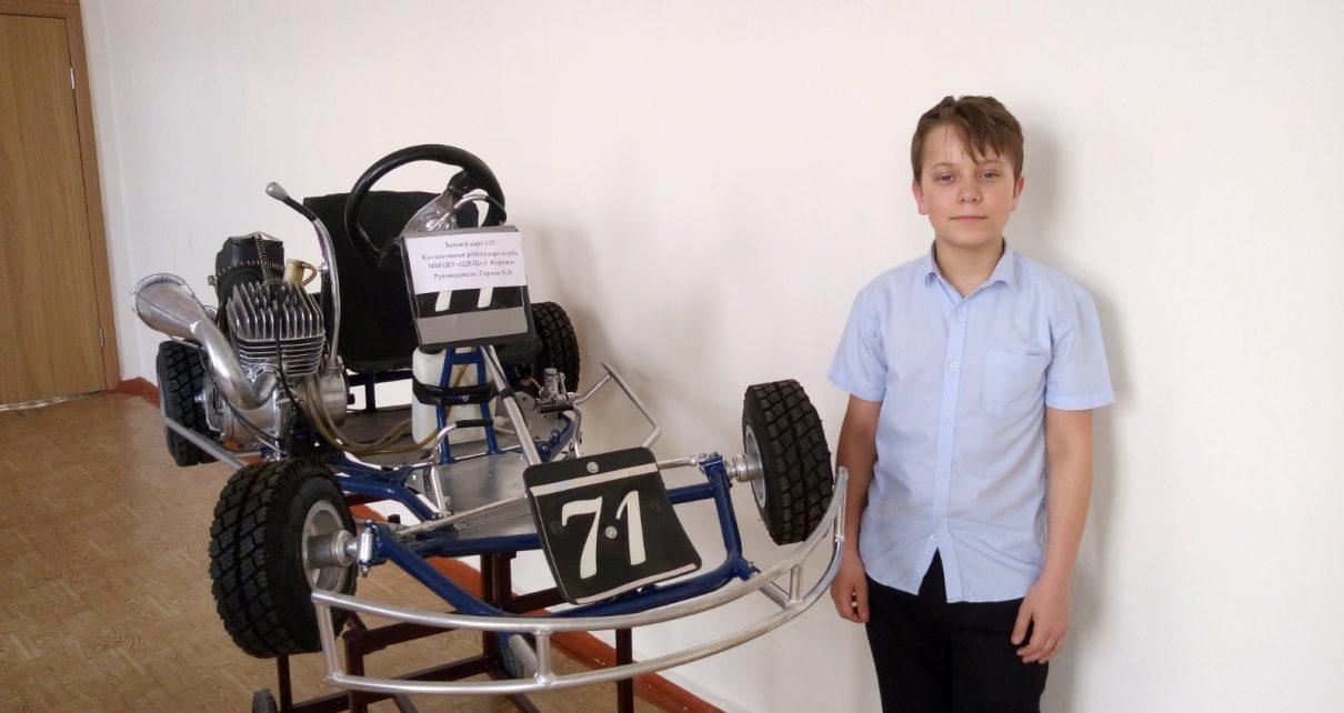 Пятиклассники из коркинской школы побывали на выставке технического творчества