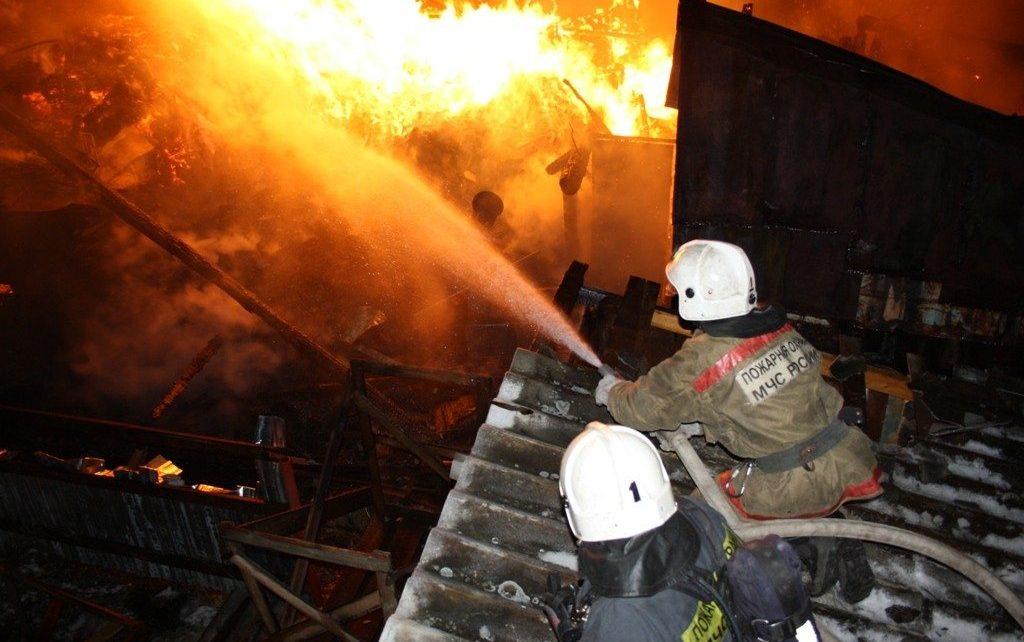 В посёлке Роза произошло два пожара по одному адресу