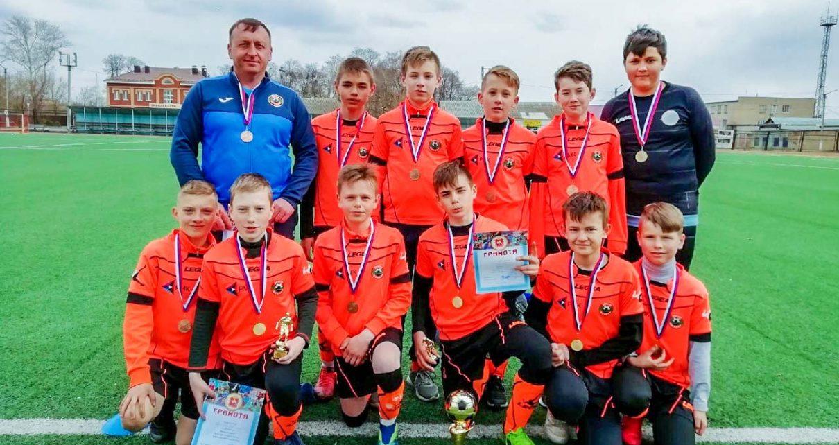Коркинская команда «Шахтёр-2008» стала третьей в турнире на призы главы Аргаяшского района