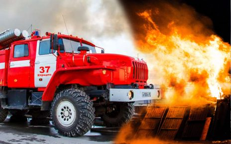 В Коркинском районе произошло два пожара за выходной