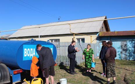 Жители Шумаков рассказали, что обеспечены водой