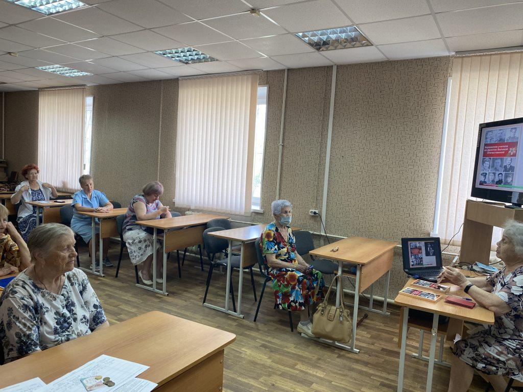 Коркинцы вспомнили учителей-фронтовиков