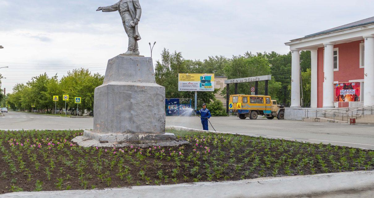 На клумбы в Коркино высажено десять тысяч цветов