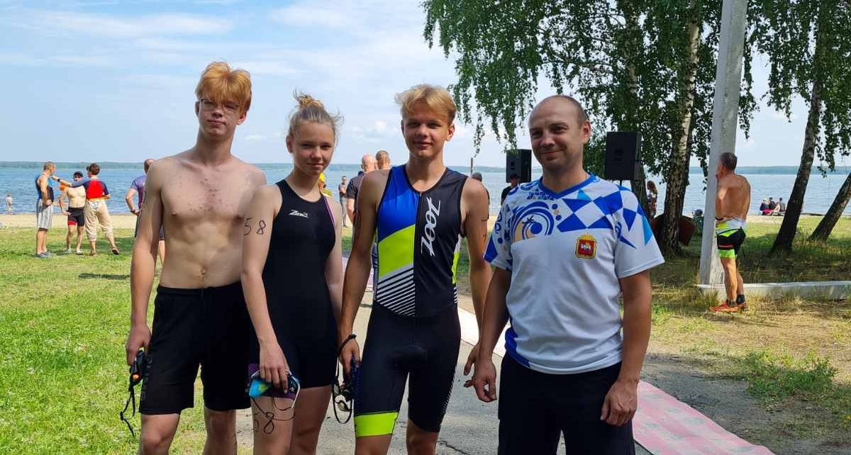 Коркинских триатлонистов подвели велосипедные шины, зато Валерия Айкашева – вторая!