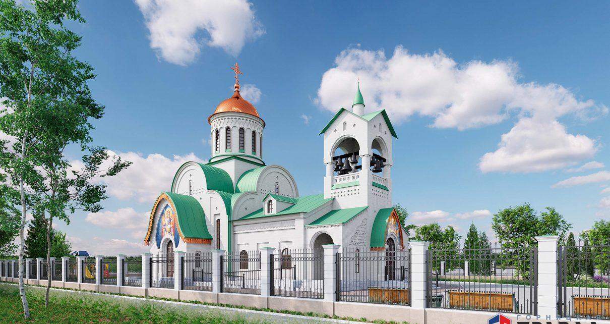 На Розе построят храм в честь святого великомученика Пантелеимона