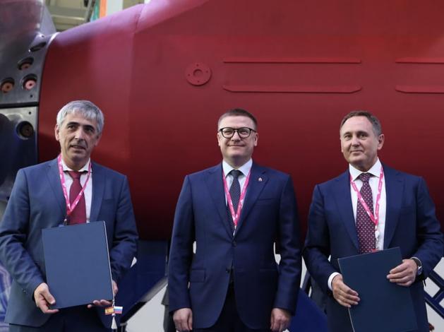 Алексей Текслер подписал ряд соглашений на выставке «Иннопром»