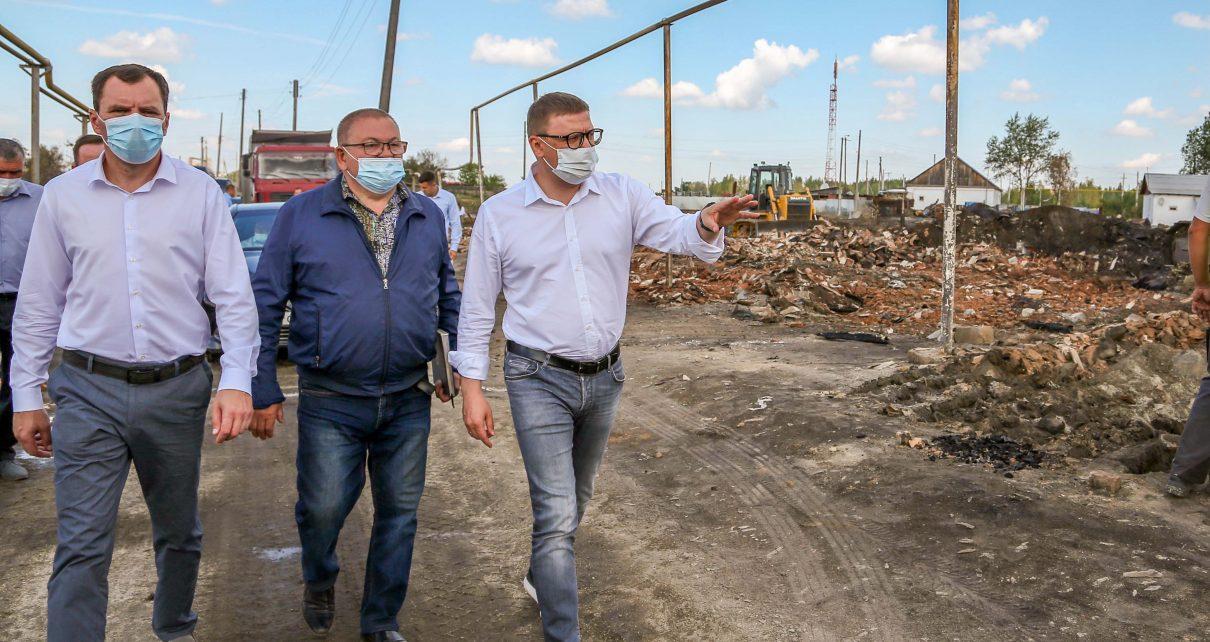 Губернатор побывал в Карталинском районе, где проконтролировал ход восстановительных работ