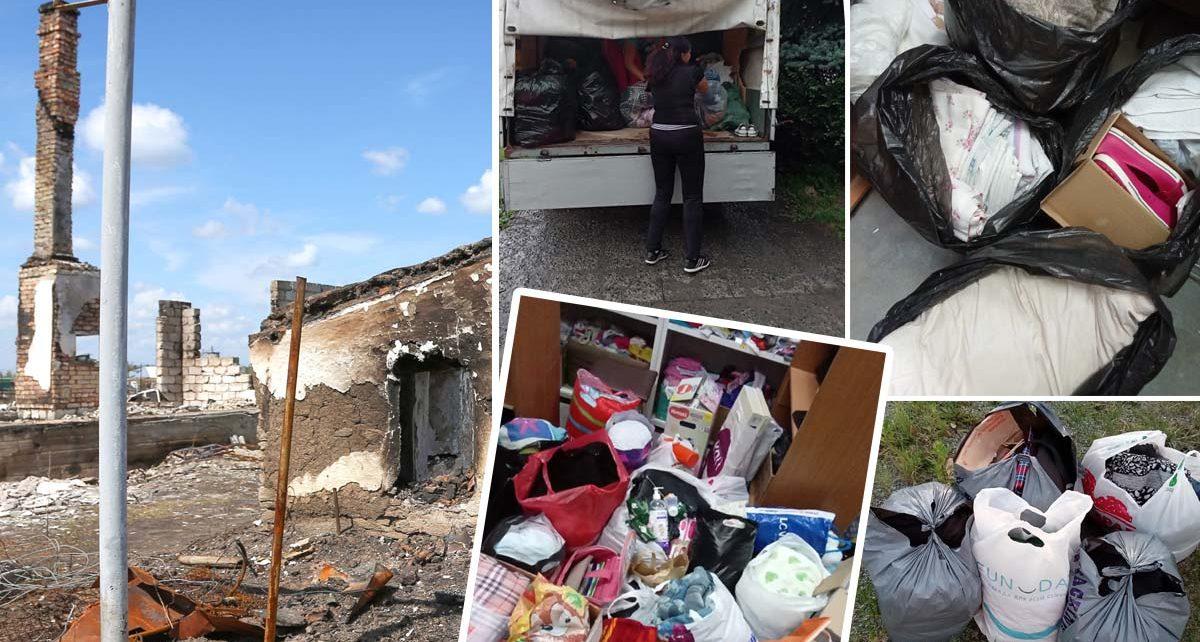Добровольцы из Коркино отправили в Карталинский район две машины с вещами