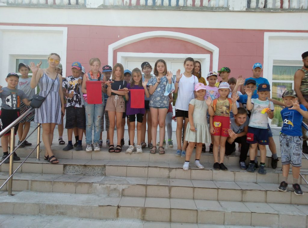 Коркинские дети побывали в историческом парке