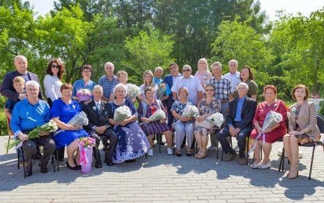 В Коркинском районе чествовали золотые семейные пары