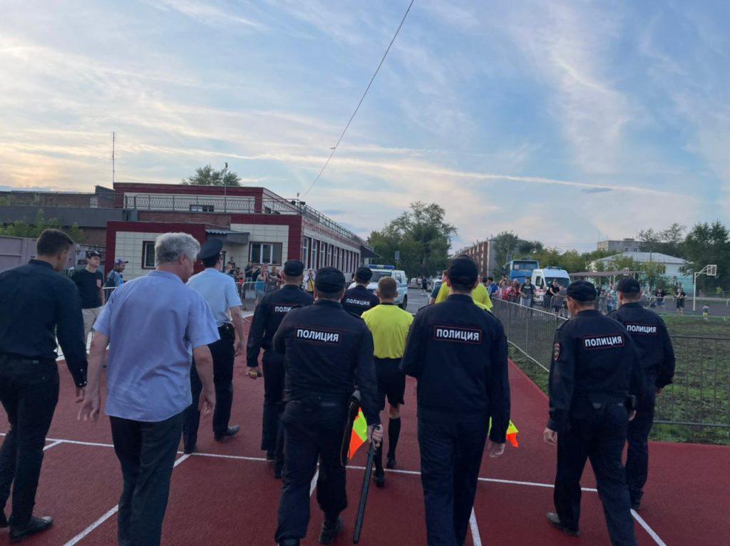 Как «убивали» коркинский «Шахтёр» в футбольном матче чемпионата России