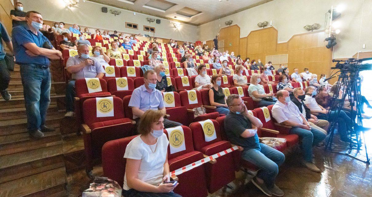 Коркинцы сегодня участвовали в общественных слушаниях