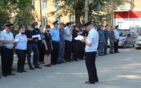 Коркинские полицейские провели оперативно-профилактическое мероприятие «Район»