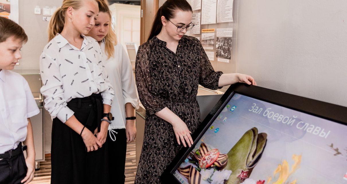 В центре дополнительного образования детей Коркино открылся обновлённый музей боевой славы
