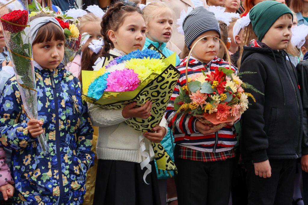 Коркинским школьникам дали напутствия на новый учебный год