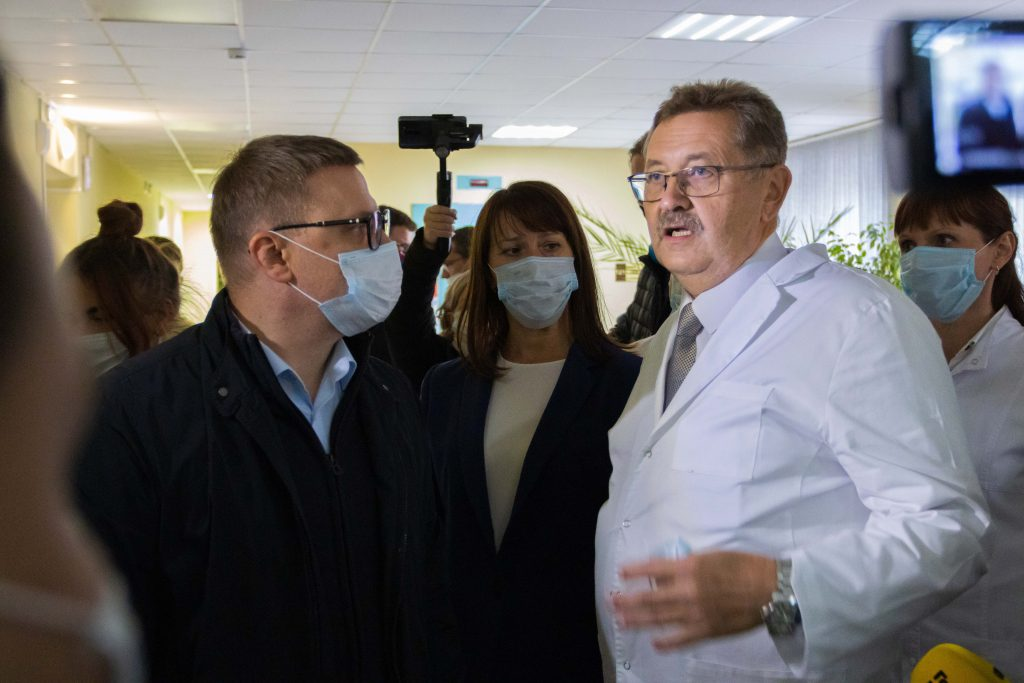 Сегодня губернатор Алексей Текслер посетил Коркинский район